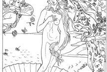 disegni opere famose