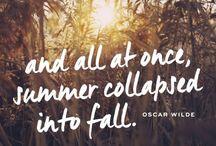 Fall qoutes