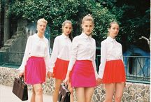 Modern Mod and 60´s fashion. / I wanna look like this right now. Modern modette and 60´s girl.