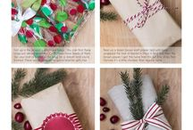 Wrapping Ideas / Gift wrapping ideas.