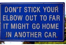 Traffic signs *funny*