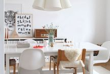 Scandi white / Scandinavian inspired home decor