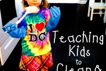 Teaching kids to clean and organize