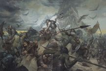 The Battle of Five Armies - The Board Game / References to the Miniatures painting