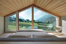 Interiors: bedrooms