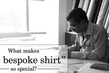Bespoke shirts / Sometimes it's just about impossible to find the perfect outfit when you need it. Shopping at the normal shops will allow the customer to touch and feel the product. But what you have in mind – a certain color, style, or fabric may not be available. Or at least not in the right fit.  To know more visit http://www.stylior.com/
