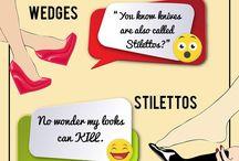Shoe Humor! / Let's laugh a little more! :D