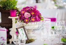 Fresh wedding decor