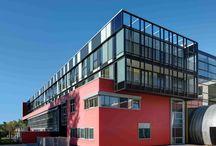 Centro Rosenbach / Scuola, asilo, convitto e centro culturale a Bolzano. Fornitura e posa di facciata continua, rivestimenti in alluminio, serramenti e frangisole
