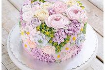 kaker og kakedekorering