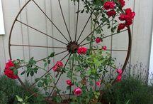Záhradné konštrukcie na kríky