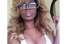 Black n blonde