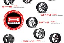 Spec-1 Racing Wheels / Check out the hottest wheels and rims from Spec-1 Racing for your car or SUV. http://www.hubcap-tire-wheel.com/spec-1-custom-wheels-rims.html