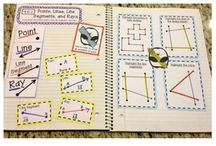 Interactive Math Notebook / Education:  Middle school math