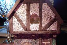 Cottage en cours de réalisation