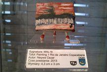 MALARSTWO Brasil - Brazylia / Dział Malarstwa, Rysunku i Grafiki - Muzeum Miniaturowej Sztuki Profesjonalnej Henryk Jan Dominiak w Tychach