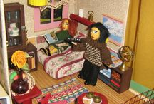 My Dollhouse - Guestroom / Actually I wanted to stop by kitchen - but I could not :-)