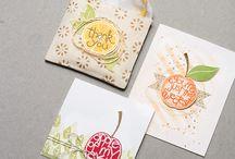 3 x 3 card ideas