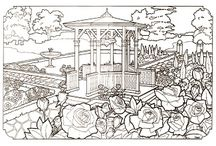 Coloring Book - The Victorian House