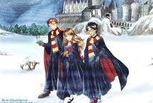 Harry, Ron and Hermione <3
