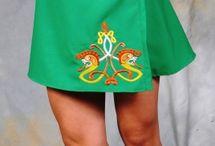 dresses irish