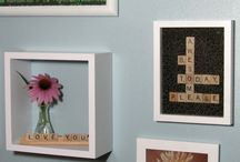 Scrabble Crafts / by Barbara Bird