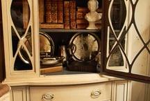 Bookshelves / by Katharine Turner
