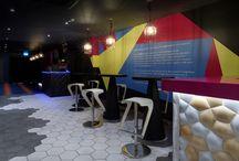 Portfolio | Geo Bar / Our latest design of Geo Bar Ruislip, a venue to immerse your senses.