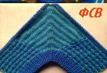 Slippers knitting crochet