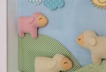 Nursery - Lamp / Sheep Theme