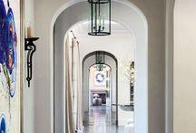 Entryway and corridors