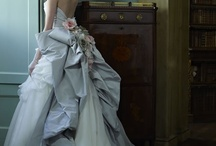 Wedding dresses - blue