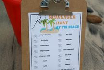 Beach Ideas / tips and activities for a beach trip with kids