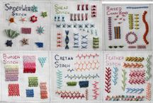 stiche/stitches     embroidery + needlework + ...... / rund um's Nadelhobby