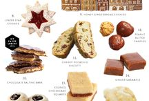 Christmas Baking / Lots and lots of inspiration for the holidays.