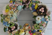 Easter Bonnet? I'm On It! / Easter decor and more because Easter is Eggsellent!