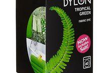 DYLON Tropical Yeşil - Tropical Green - Fabric Dye With Salt