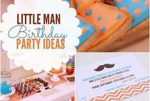 Little Man First Birthday