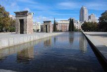 Templo egipcio de Debod. Madrid / Photo Travel History Art Architecture Archaeology Fotografía Viajes Historia Arte Arquitectura Arqueología