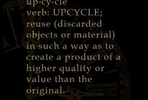 Upcycling with Graphic 45 / up·cy·cle verb: upcycle; reuse (discarded objects or material) in such a way as to create a product of a higher quality or value than the original. / by Graphic 45®
