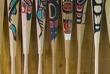 Paddles / Native indian