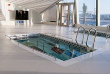 SwimSpa, Pool Fitness and Aquatic Therapy at Home. / Splish, splash, rock and roll with aquatic fitness, exercise and therapy at home in your very own beautiful swim spa! / by SwimEx, Inc.