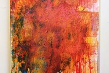 Abstract Art with Edge! / Original artworks, handmade artist books, contemporary framed art prints for modern spaces.