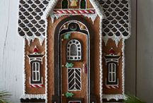 Gingerbread houses / Various Styles