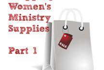 Women's Ministry Decor