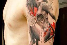 Tatuoinnit- miehet.