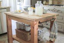 DIY Kitchen Island Storage ideas