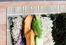 Sea food and vegetarian ideas