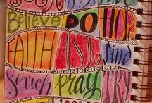 Art journaling inspiration and ideas