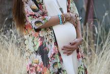 Estilo na gravidez / Looks confortáveis e bonitos de gravidinhas